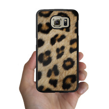 Galaxy Note 8 S8 S7 S6 Edge Plus S5 Rubber Case Animal Fur Leopard For Samsung