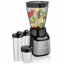 Hamilton Beach 52400 STAY OR GO Black & Stainless Steel Multi Jar Blender