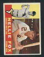 1960 Topps #100 Nellie Fox EX/EX+ White Sox 122992