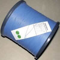 50M 30AWG Blue Soft Silicone Wire Bending Cold-freeze & High-temp Resistant