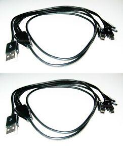 XP Deus ORX Metal Detector 3-Way Charger | Charging Cable - Mini USB | x 2 PCS