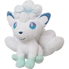 "NEW Sanei 7"" Alolan Vulpix PP61 Pokemon All Star Collection Sun Moon Plush Doll"