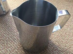 400oz 1000ml Stainless Steel Milk Foaming Steaming Jug