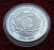 POLAND COIN PRL 200000 ZLOTYCH ANNIVERSARY KOSCIUSZKO UPRISING 1994 YEAR SILVER