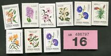 Set stamps of    Argentina.  Flowers