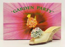 Nostalgia Garden Party Flower Shoe Nib