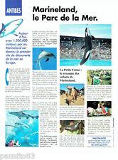 PUBLICITE ADVERTISING 056  1997  Marineland Antibes  parc de la mer  la ferme