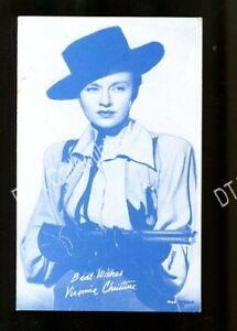 VIRGINIA CHRISTINE-1950-ARCADE CARD-PORTRAIT G