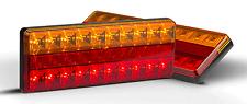 PAIR LED TRAILER TRUCK FLOAT CAMPER UTE LIGHTS 275AR