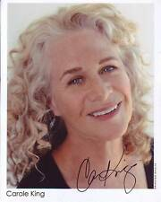 CAROLE KING Signed Photo w/ Hologram COA