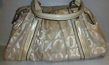 OXOxO Handbag Tan Gold Ivory Lrg Purse