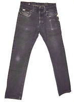 G-Star Jeans 'BLADE SLIM LUNAR EMBRO' Dark Aged W31 L34 EUC RRP $289 Men Boys