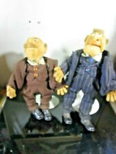 Muppet Show Statler and Waldorf Rare Collector's Item Dolls 32 cm / 28 cm (Manuf