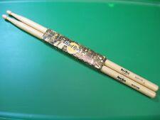 """Hard Rock Cafe HRC 16"""" Matching Natural Wood Drum Sticks / Boston"""