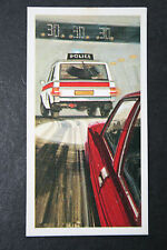 Range Rover     Police Car   1970's  Vintage Illustrated Card  VGC