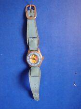 Vintage 1971 Mod Barbie Child'S Wristwatch- Extra Band- Works