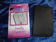 BLITZ Jewelry Organizer BLACK AntiTarnish Interior New in Box Qty Discount