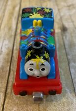 Thomas & Friends Train Tank Diecast Take n Play Along Paint Splattered