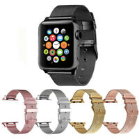 38/40 42/44mm Metal Band Stainless Steel Wristband For iWatch Series 5/4/3/2/1