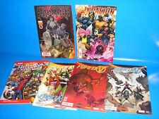 Lote de 2 tomos Invasion secreta + 3 numeros de FUERZA V + Spiderman