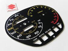 1982 Suzuki gs1000 gs1000sz katana speedometer tachometer GAUGE FACE PLATE