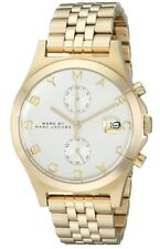 Marc Jacobs Fergus Chronograph Gold Tone Stainless Steel Womens Watch MBM3379 SD
