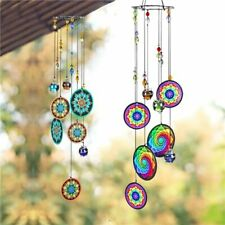 Hanging Mandala Windchimes Window Rainbow Maker Balcony Suncatcher Decoration