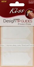 KISS Design TIP GUIDES Nails 41 GUIDES Chevron+French+Sweetheart 3-STYLES #61203