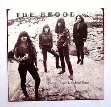 THE BROOD - SINCE HE'S BEEN GONE - RARE AUTOGRAPHED BY ALL BAND! - 1990 / GARAGE