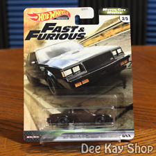 '87 Buick Grand National GNX - Fast & Furious Motor City Muscle - Hot Wheels