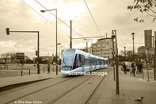 Original Photograph: Paris Alstom Citadis 803 appr St.-Denis/Porte de Paris(5x7)