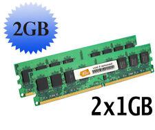 Hynix 2GB 2x1GB pc2-5300 240pin DDR2 667 Desktop Memory pc5300 RAM 240-pin DIMM