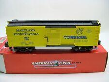 6-48487 American Flyer Yorkrail 1994 TCA Boxcar, New in Original Box