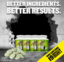 4 X BOTTLES OF BULLY MAX DOG VITAMIN MINERAL SUPPLEMENT - 240 TABLETS IN TOTAL