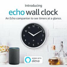 Amazon Echo Wall Clock - Compatible with Alexa Devices