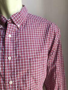 Bill's Khakis Shirt, Chester Plaid, 2XL, Classic Fit, Excellent Condition