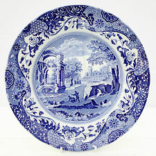 Vintage Spode Blue Italian Salad Dinner Plate