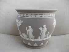"Wedgwood lilac jasper dip 6"" grecian flower pot"