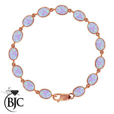 Bracciali di lusso con gemme naturale in oro rosa