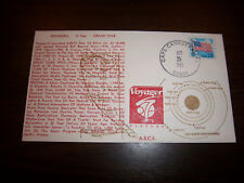 VOYAGER 2 - 12 YEAR GRAND TOUR A.S.C.S. SPACE EVENT COVER 8/25/1989 UNADDRESSED