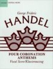 Four Coronation Anthems. SATB; Handel, George Frideric, FMW - 9780193352582