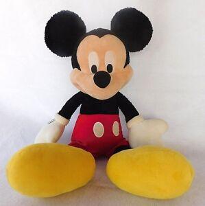 "Walt Disney World Theme Park Mickey Mouse Large Jumbo 25"" Stuffed Plush Doll Toy"