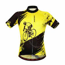 WOSAWE Mens Cycling Jerseys MTB Bike Shirt Full Zipper Bicycle Vest US SELLER!