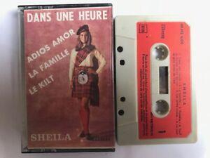 sheila dans une heure adios amor cassette audio K7 TAPE 33