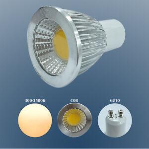 5W GU10 LED Bulbs Lamps Warm White  Spotlight