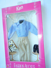 Barbie Ken Dress Fashion Avenue Mattel 14679 - 1995