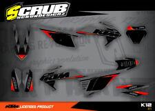 KTM Dekor SX SXf 125 150 250 300 350 450 2019 '19 grafik XC XCf  aufkleber