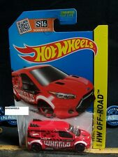 HOT WHEELS 2015 #98 -1 HOT WHEELS FORD TRANSIT CONNECT RED AMER ROAD