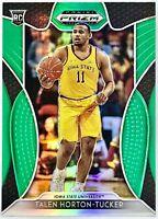 2019-20 Panini Talen Horton Tucker Silver Green Prizm Rookie Card RC Lakers 📈🔥