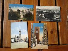 Frankenstein Schlesien Ząbkowice Śląskie 4 Karten Rathhaus Ruine Turm Ansicht
